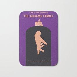 No423 My The Addams Family minimal movie poster Bath Mat