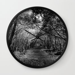 Desolate // Aokigahara  Wall Clock