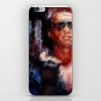 terminator iPhone & iPod Skins featuring The Terminator by Alice Z.