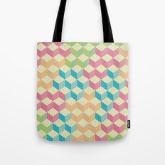 Sugar Cubes Geometric Pattern Tote Bag
