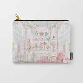 French Patisserie  Carry-All Pouch