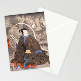 Apparition of the Monstrous Cat Stationery Cards