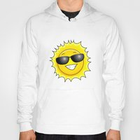 sunglasses Hoodies featuring sunglasses on by Li-Bro