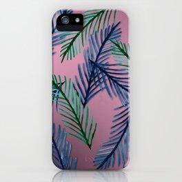 Botanical  pattern I iPhone Case