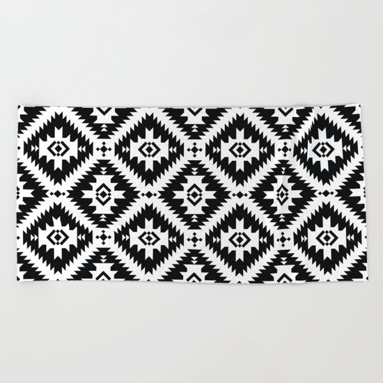 NavNa BW Beach Towel