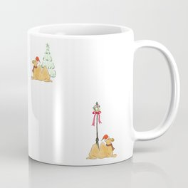 Christmas Camel Pattern Coffee Mug