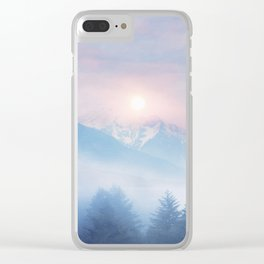Pastel vibes 11 c.o. Clear iPhone Case