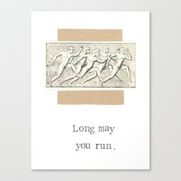 Long May You Run Canvas Print
