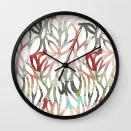 meander Wall Clock
