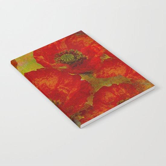 Poppies(red&orange). Notebook