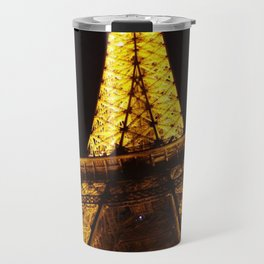 Eiffel Tower at Night Travel Mug