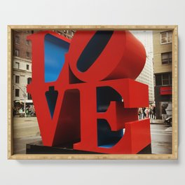 Love Sculpture - NYC Serving Tray