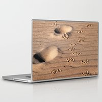 dune Laptop & iPad Skins featuring SAND DUNE  by CAPTAINSILVA