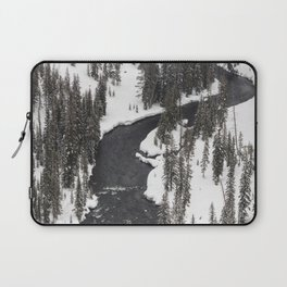 Yellowstone National Park - Lewis River Laptop Sleeve