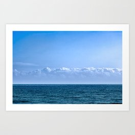 Large Cloud Sky Art Print