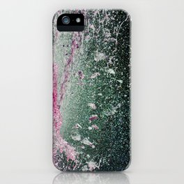 Water in pink iPhone Case