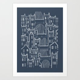 Old Town / 4 Art Print
