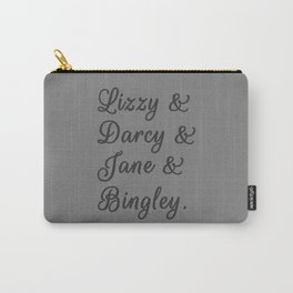 The Pride and Prejudice Couples I Carry-All Pouch