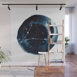 Pisces Zodiac Constellation Wall Mural