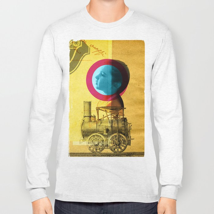 A childhood journey between reality and imagination... Long Sleeve T-shirt