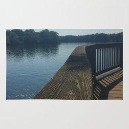 Dock on the Lake Rug
