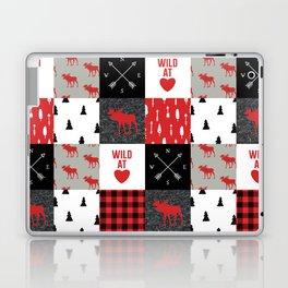 Wild At Heart Lumberjack Quilt Pattern Laptop & iPad Skin