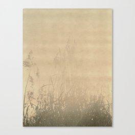 Sunbury Field Polaroid Canvas Print