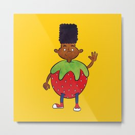 Strawberry Gerald  Metal Print