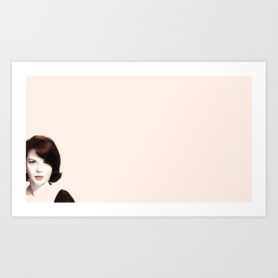 ♡ Natalie Wood ♡ Art Print