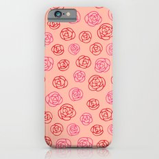Valentine roses 2 iPhone 6s Slim Case