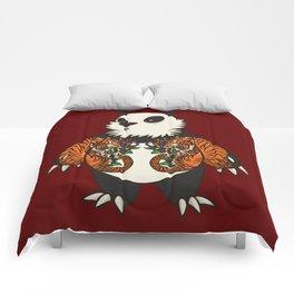 Yakuza Panda - DopeTiger Comforters