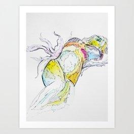 Lady Marmalade  Art Print