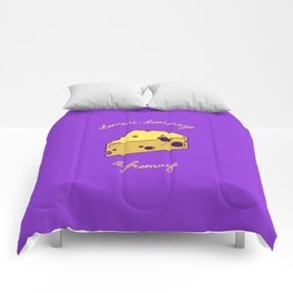 DOMMI-DOMMAGE (le fromage) Comforters