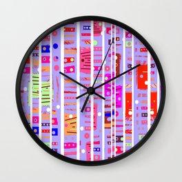 Color Square 11 Wall Clock