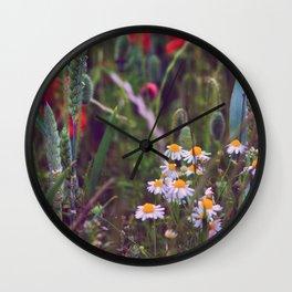 Daisy Dreamer Wall Clock