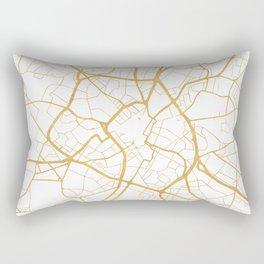 BIRMINGHAM ENGLAND CITY STREET MAP ART Rectangular Pillow