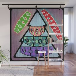 Christmas Emotions Wall Mural