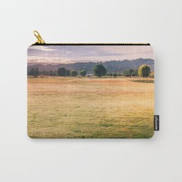 Golden Light Over The Driving Range Carry-All Pouch