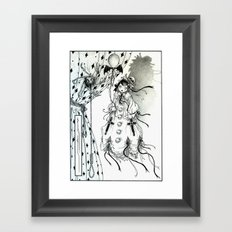 Apparitia Doll Framed Art Print
