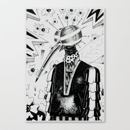 mosco rumbero Canvas Print