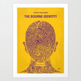 No439 My The Bourne identity mmp Art Print