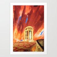 portal Art Prints featuring Portal by John Turck