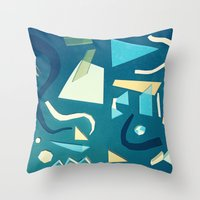 marine Throw Pillows featuring marine by Carlos Castro Perez