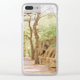 Spring on Central Park West Clear iPhone Case