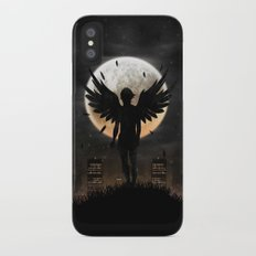 Lost in the world of humanity iPhone X Slim Case