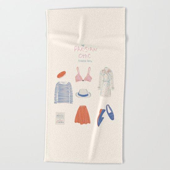 Parisian Chic: Starter Pack Beach Towel