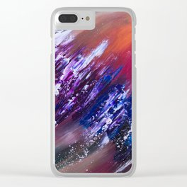 Eidelweiss Clear iPhone Case