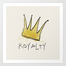 Royalty Art Print