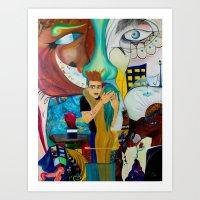 Transicion Art Print