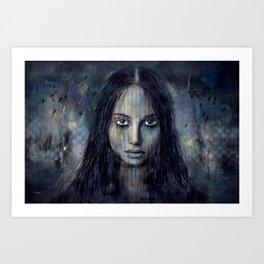 Isolated Art Print